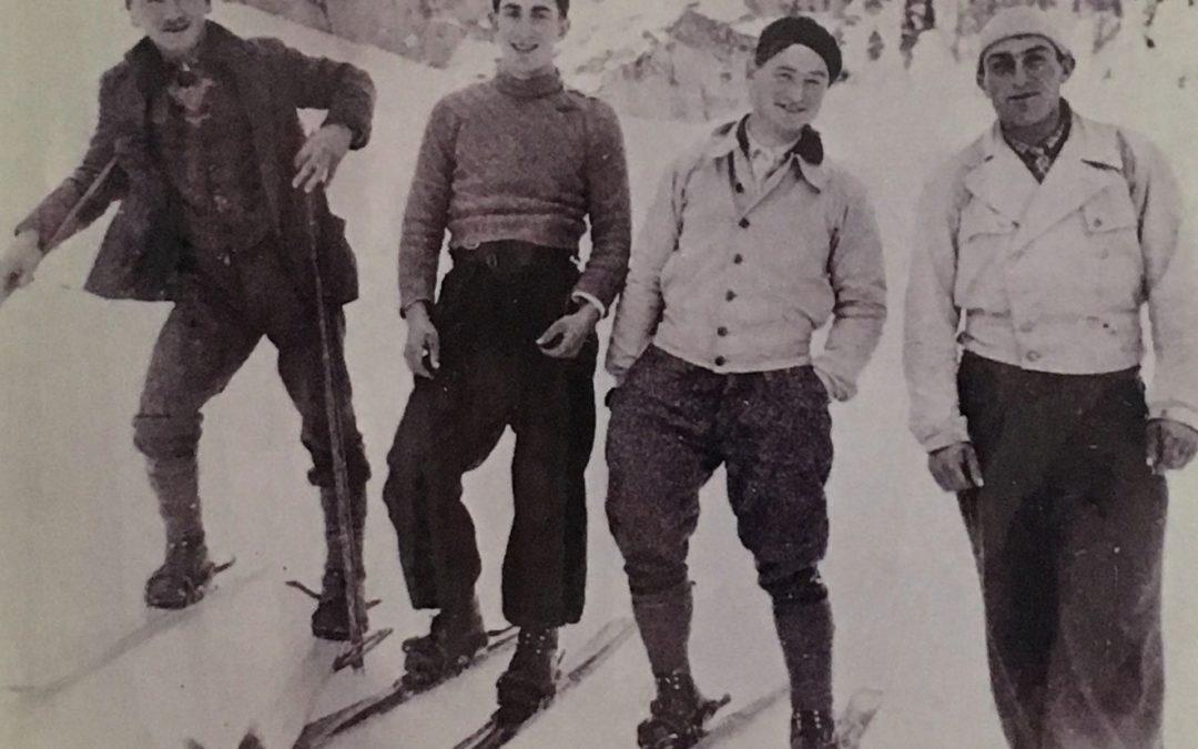 Le concours de 1940, instant fondateur de l'esprit du Ski-Club Chavalard.